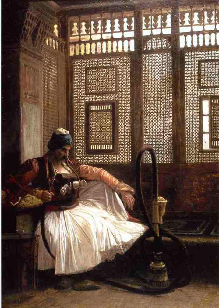 Janissary Smoking, by Jean-Leon Gerome, 1865